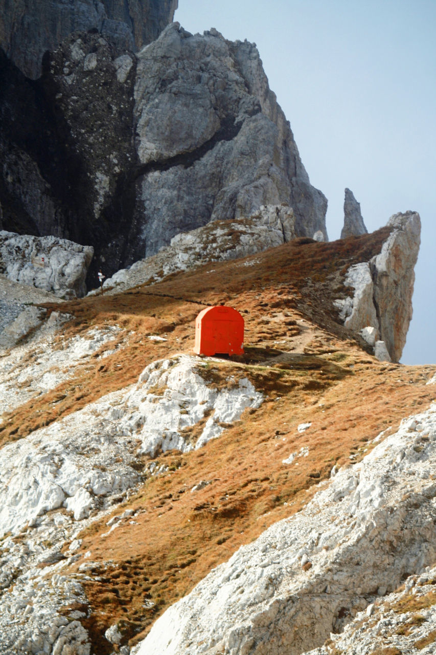 Red Box On Rocky Mountain