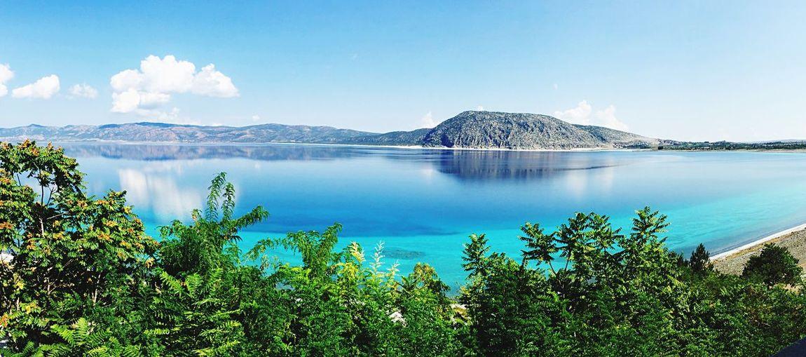 Nature Beauty In Nature Salda Lake Lake Outdoors Blue