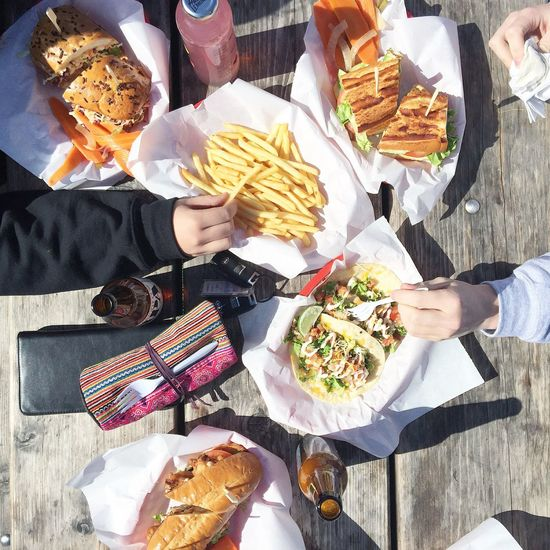 Street Food Worldwide California Cali California Love Poboy Oyster  Chips WestCoast Summer Streetfood Foodie