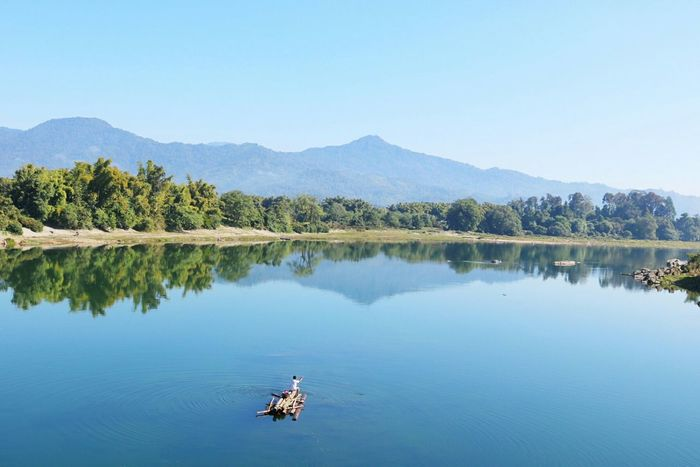 Reflection Nature Lake Beauty In Nature Landscape Outdoors EyeEm Nature Lover Water Myanmar Putao EyeEm Best Shots - Nature Eyeemphotography Travelphotography Travelingram