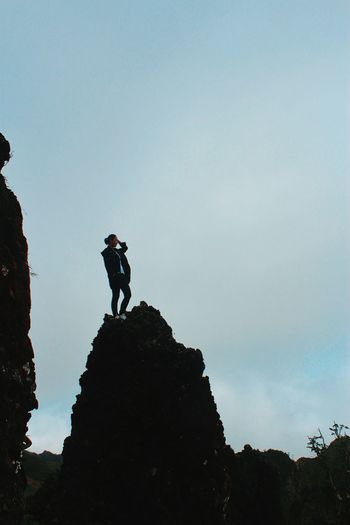 Osmeña Peak Adventure RISK Extreme Sports Hiking Challenge Outdoors Discovery Silhouette
