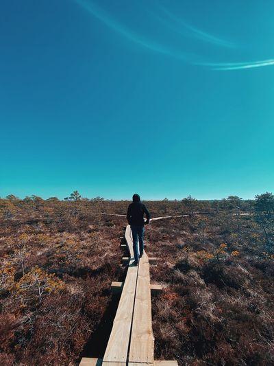 Social distance nature walk