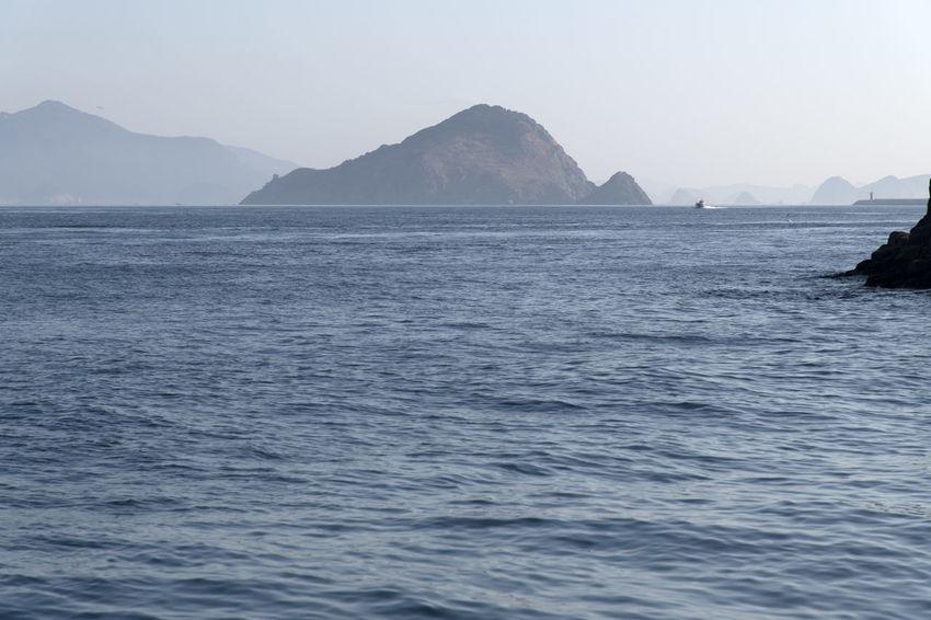 seascape of Somaemuldo Island in Tongyeong, Gyeongnam, South Korea. Taken with Nikon d850 and Nikon 24-120mm D850 Nature's Beauty Tongyeong Beauty Of Nature D850 Horizon Over Sea Horizon Over Water Island Outdoor Sea And Sky Sea Horizon Seascape Somaemuldo