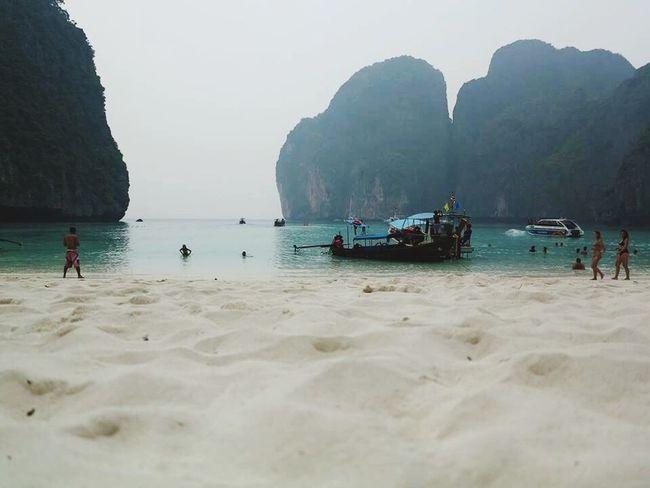 Beautiful Thebeach Maya Bay Koh Phi Phi Island Phuket,Thailand Beachphotography EyeEm Nature Lover