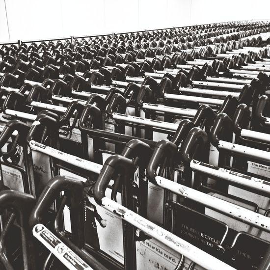 Repeat Repeat  NEM Black&white AMPt_community Luggage Trolleys