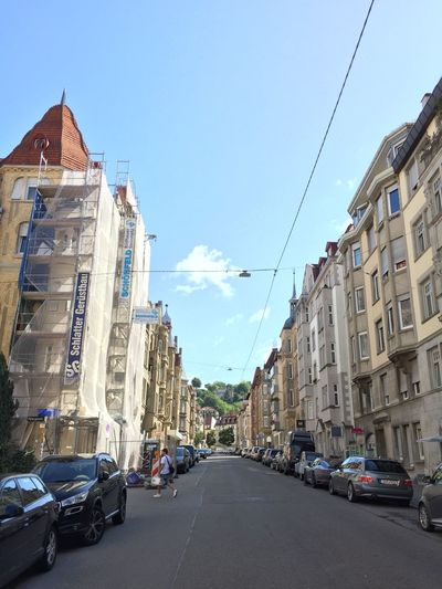 Listviertel Stuttgart City Architecture City Day Outdoors Road Sky Stuttgartsüd