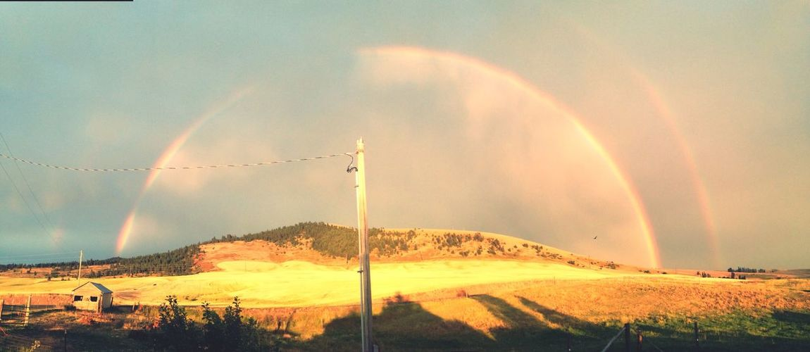 Rainbow over Tekoa Mountain Hello World First Eyeem Photo