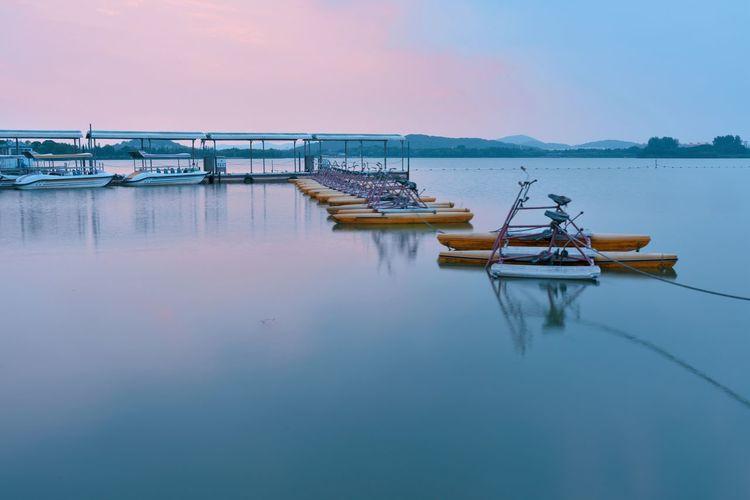 渔父岛的小码头 EyeEm