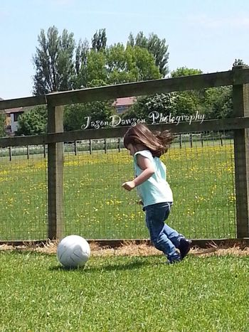 Playing football in the park Enjoying Life Streamzoofamily Streamzoo TheVille