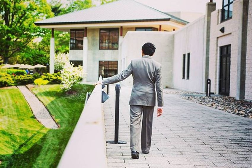 Caught this picture of @saajjhas2, taking a stroll outside away from all the wedding chaos. As he contemplates his future at Uva , but he'll do great things I'm sure. Hasanpride Swagger  Contemplation Stroll Suit Onpoint Follow Sarahandalberto Wedding Weddingseason Silver  Golfcourse Suite Hall Virginia Lfl Cousins  Instagood Instadaily Ztprod