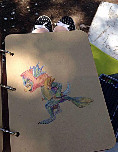 Dota 2 Sketchbook Drawing Pencil
