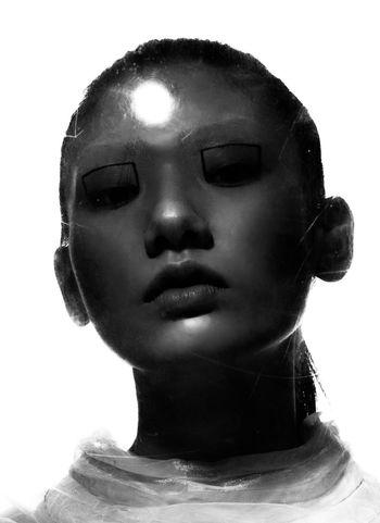 Fashion Futuristic Andromeda Portrait Astronaut Space Exploration Vintage Blackandwhite EyeEmNewHere