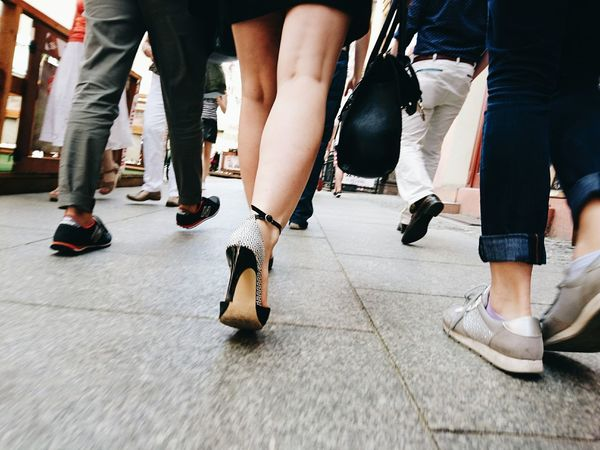 Chance Encounters Low Section Human Leg Women EyeEm Best Shots Shootermag Exceptional Photographs Streetphotography