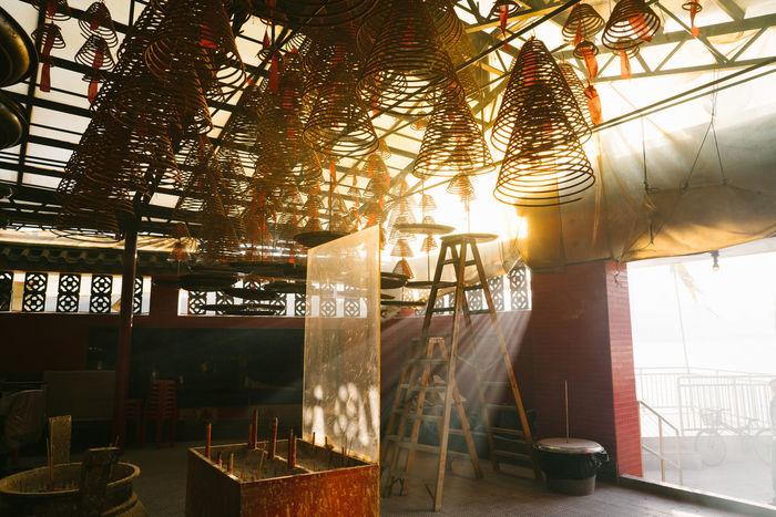 Tin Hau Temple Light Building Temple