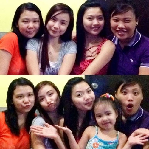 Nakumpleto din! :) after 4 years! :) Girls Milovessss