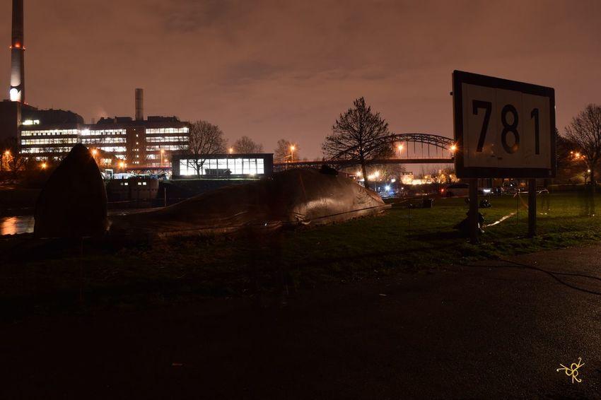 Built Structure City City Life Cloud - Sky Dark Duisburg Akzente Duisburg Hafen Duisburger Innenhafen. Grass Hafen Illuminated Nature Night Night Photography Nightphotography No People Outdoors Ruhrort Sky Sunset Waal