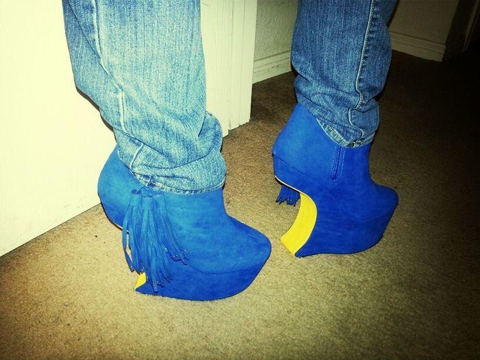 No Heel Heels