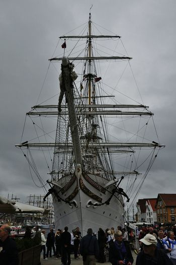 The oh so impressing Statsraad Lehmkuhl when the Tall Ships race visited Stavanger. The Tourist Sail Ship Norway Sailship