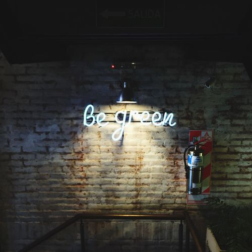 Green Enjoying Life Be Green  Restaurant
