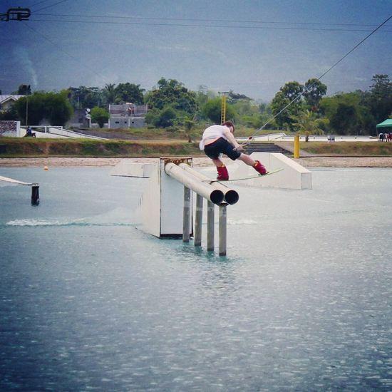 Фото с тренировки в CWC на Филиппинах. Gopro Wakeboarding Extreme Sports First Eyeem Photo