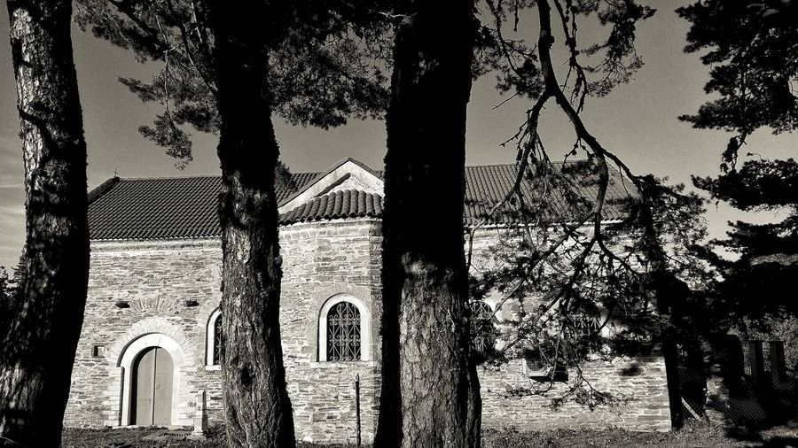 Architecture Outdoors Trees Rodopi Mountain Naturephotography