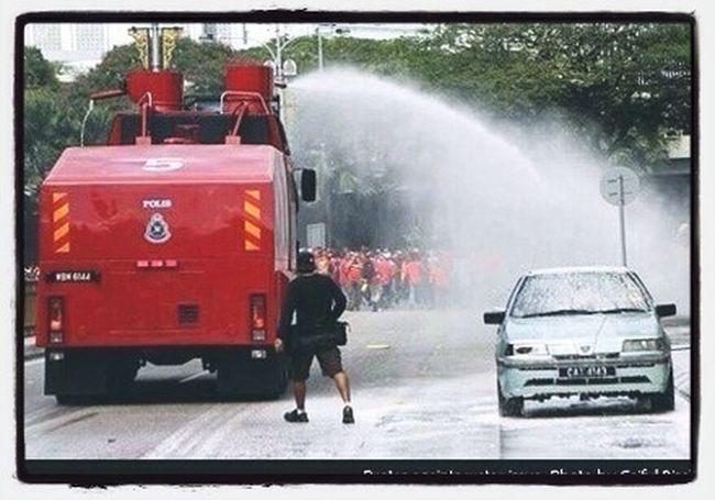 Protest in Kuala Lumpur
