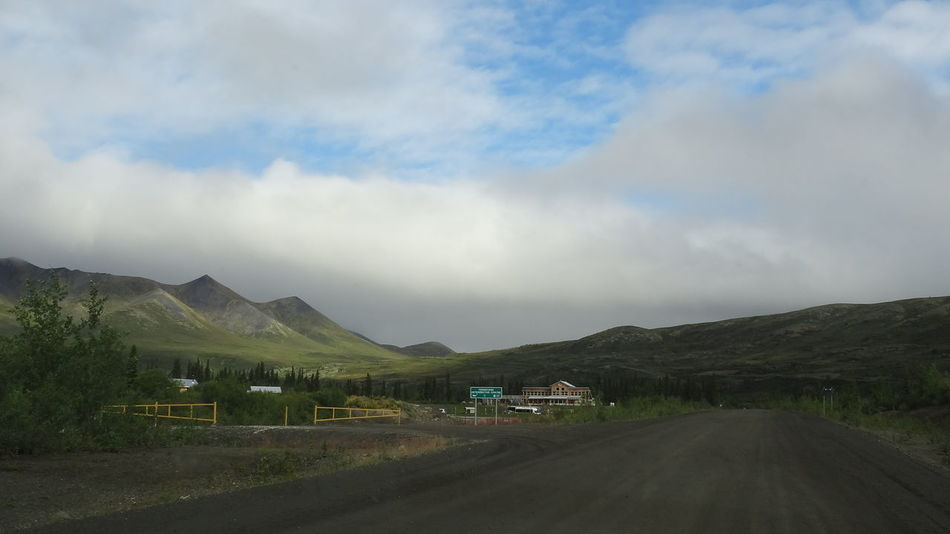 Beauty In Nature Canada Car Cloud - Sky Day Dempster Highway Land Vehicle Landscape Mountain Mountain Range Nature No People Outdoors Road Scenics Sky The Way Forward Tombstone Territorial Park Tranquil Scene Tranquility Transportation Yukon
