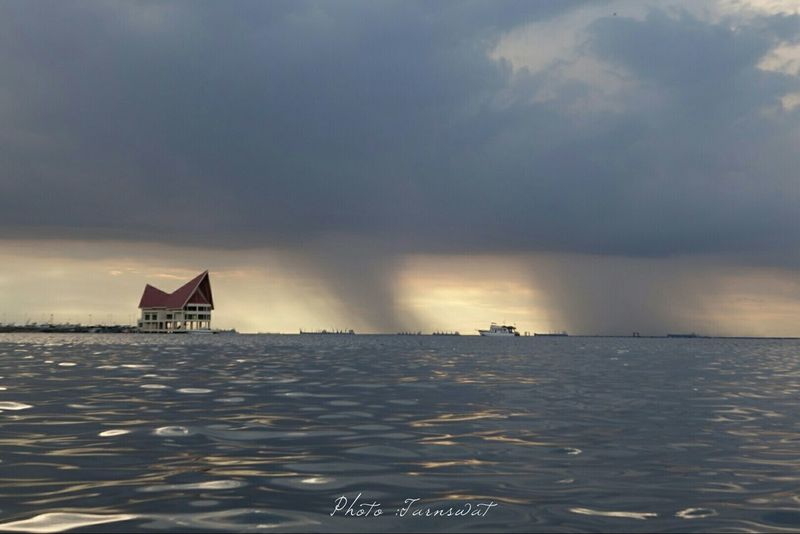 Taking Photos Sea And Sky Landscape_photography Sony Qx100
