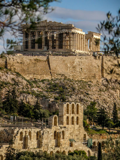Architecture Built Structure Building Exterior Tree Outdoors No People Residential Building Day Sky Nature Acropolis, Athens Parthenon Parthenon Acropolis Greece Parthenon Greece Odeon Of Herodes Atticus Odeonofherodesatticus Hellas Athens, Greece Athens Greece Athens Parthenonas