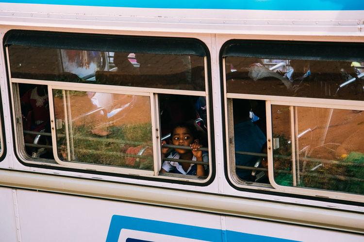 Kids SriLanka Bus Portrait Srilankatravel Transportation Be. Ready. EyeEmNewHere