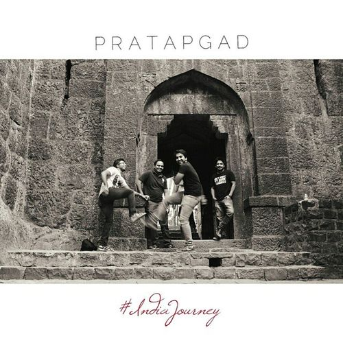 P R A T A P G A D IndiaJourney PratapgadFort IndiaJourney Indiapictures Fort Friends Bnw Fun Dance