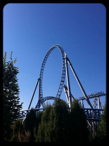 Europapark Bluefire Have Fun Roller Coaster