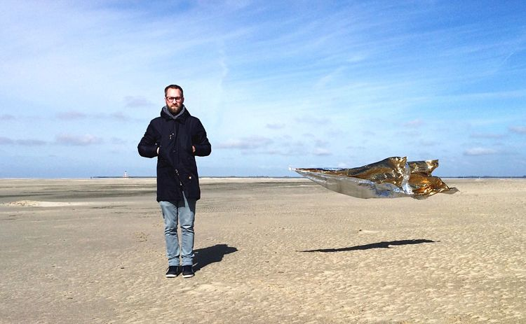 Surrealism I, beach of Sankt Peter-Ording IPhoneography The Action Photographer - 2015 EyeEm Awards Capturing Freedom Throw A Curve Getting Creative Open Edit Self Portrait Around The World Textures And Surfaces South Edge Of The World Photography In Motion The KIOMI Collection