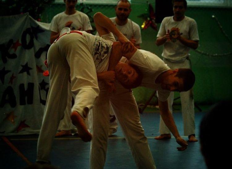 Mans Capoeira Odessa People