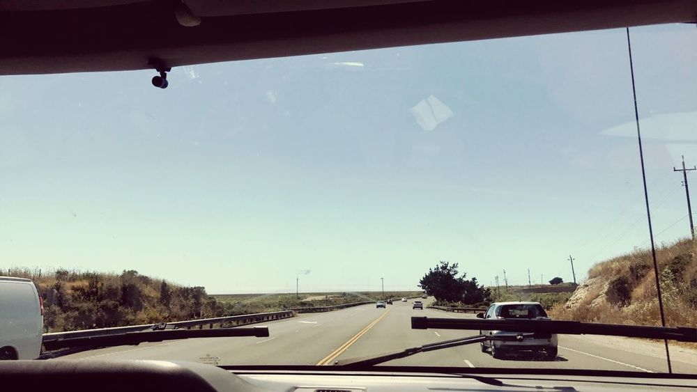 Car Transportation Land Vehicle Vehicle Interior Windshield Mode Of Transport Road Car Interior Day Tree Sky No People Window Car Point Of View Nature The Way Forward Clear Sky Outdoors Architecture Let's Go. Together. Beach California Dreamin