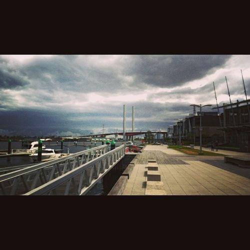 Nokialumiachallenge Winphan Melbourne Lumia1020 Bolte Bridge, dramatic sky
