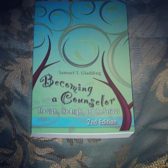 Won this book during the raffle at the meet and greet :-) DistrictOfColumbiaCounselingAssociation DCCounselingAssociation DCCA MeetAndGreet SamuelTGladding