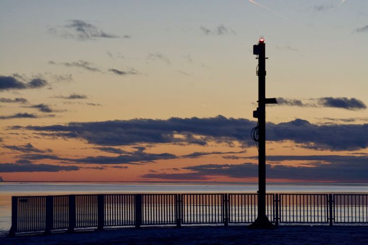 Landscape Photography Landscape_Collection Architecture Beauty In Nature Built Structure Cloud - Sky Connection Idyllic Landscape_photography Nature No People Orange Color Outdoors Railing Scenics - Nature Sea Silhouette Sky Sunset Tranquil Scene Tranquility Water Wooden Post