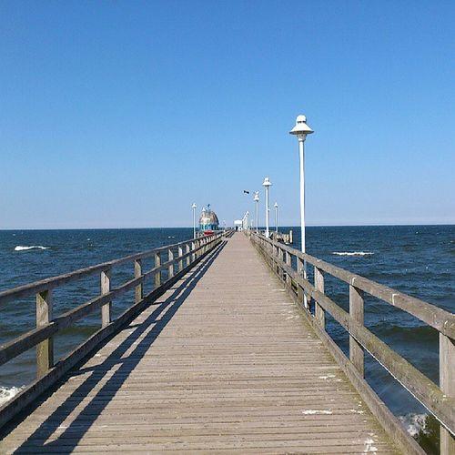 Seebrücke Zinnowitz Ostsee Balticsea Usedom Zinnowitz