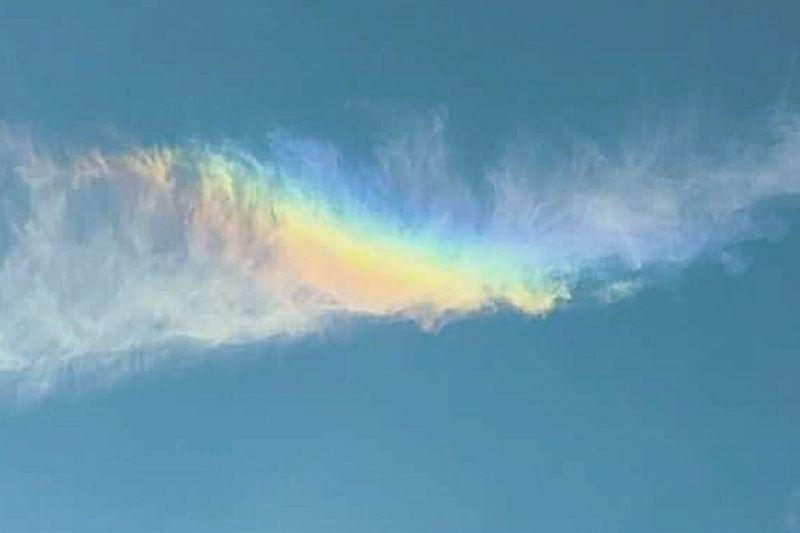 Chemtrails Whatthefuckaretheyspraying GeoEngineering Chemdog Chembow Chemical Rainbow Blue Wave
