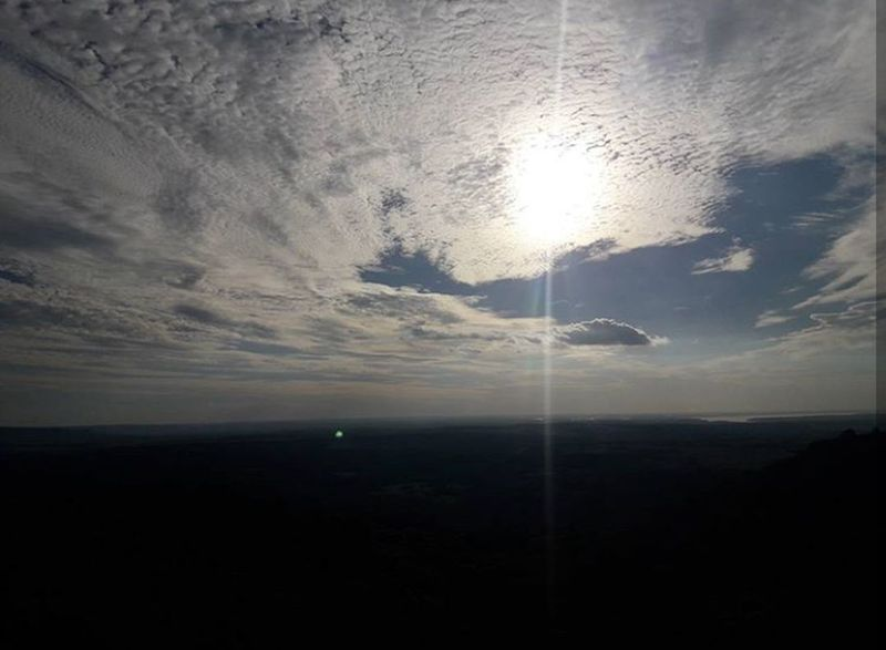 De hace un mes, en Misiones, Santa Ana. Clouds And Sky Clouds Sunshine ☀ Misiones, Argentina Weather Photography Cloud - Sky Nature Beauty In Nature Sky No People