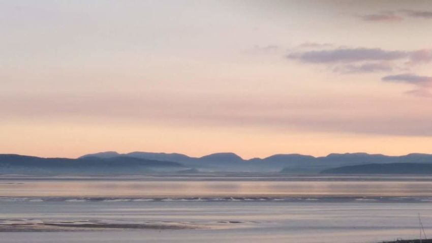 Morecambe Bay  Mountain Landscape Scenery No People Tranquil Scene Clear Sky Day Water Sea Time To Get Out Beautiful Morning Live Life Beauty In Nature Idyllic Cloud - Sky Majestic Landscape Scenery Beautiful Day Sunrise