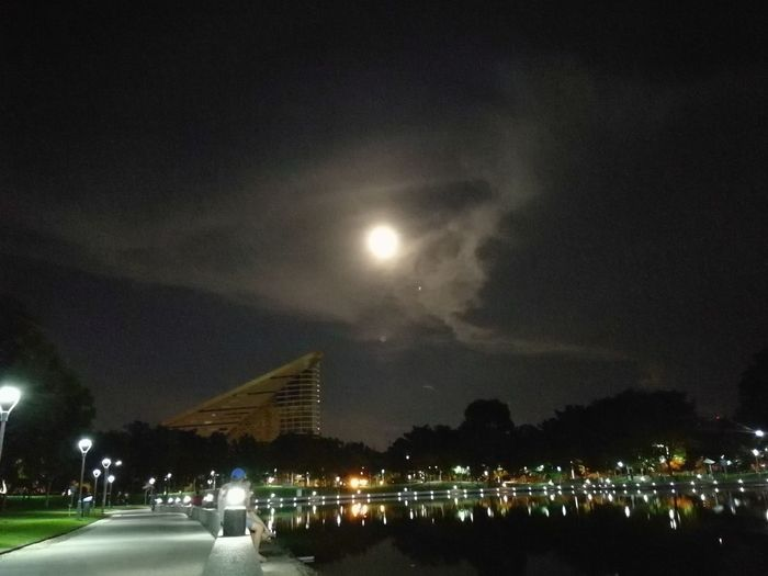 Fullmoon And Clouds Fullmoon At The Sky Fullmoontonight Sky And City Nightlife Borneo Skylover Life In Colors Sky And Clouds Nature Collection Nature's Diversities Naturelover Nature_collection