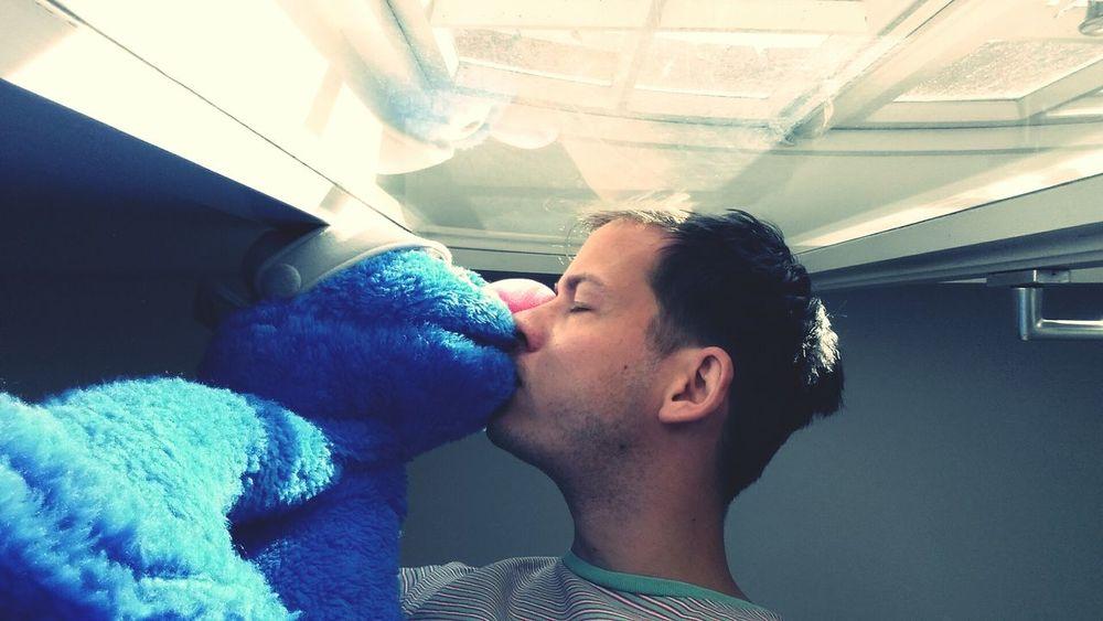 Muppets Grobi Kuss Kiss