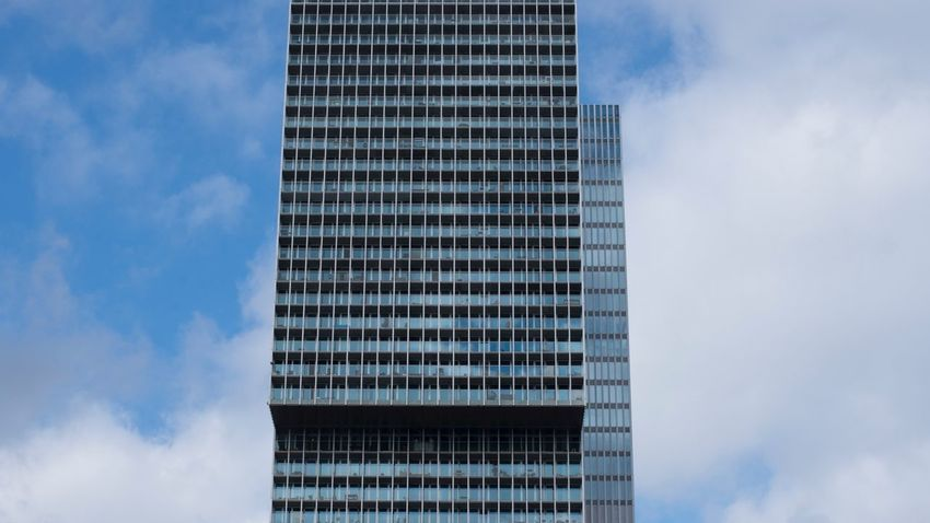 Built Structure Building Exterior Architecture Sky Office Building Exterior Cloud - Sky City Nature Tower No People Low Angle View Tall - High Reflection Outdoors Glass - Material Building Modern Skyscraper Office Day