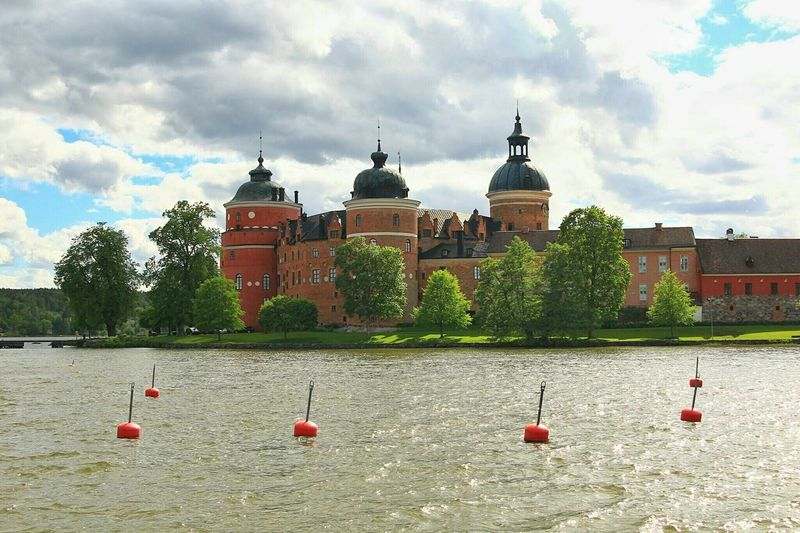 Castle hopping in Sweden. This is Gripsholm castle.