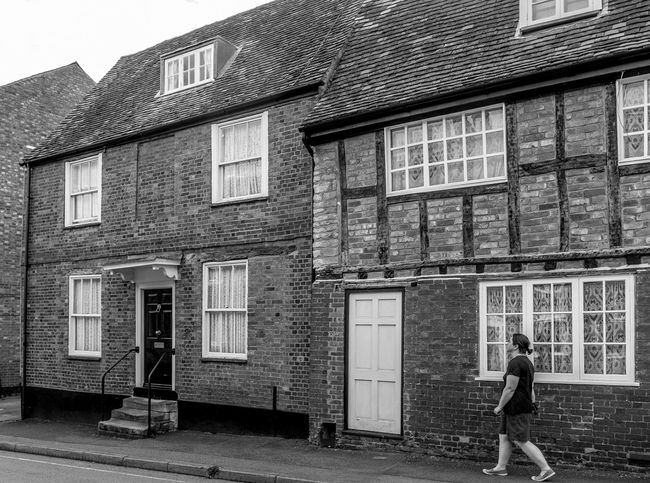 Silver Street, Newport Pagnell, Buckinghamshire Architecture Newport Pagnell Buckinghamshire Monochrome Black And White