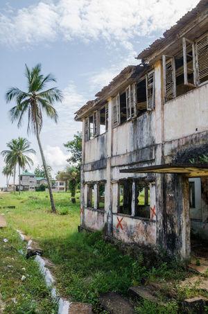 Robertsport West Africa Liberian Building Abandoned Abandoned Places African Africa Liberia Concrete War Civil War