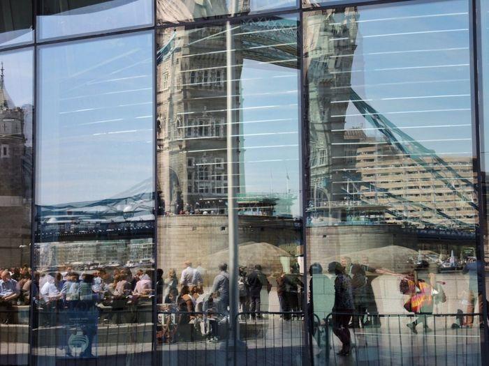 Reflection Reflection_collection Urban Reflections Architecture Architecture_collection Architectural Detail Window Windows Towerbridge Tower Bridge