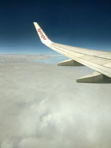 EyeEm Selects Airplane Sky Flying Air Vehicle Aerial View Aircraft Wing Day Plane Beauty In Nature